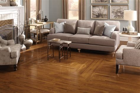 "1/2"" x 5"" Gunstock Oak Prefinished Engineered Hardwood Floor"