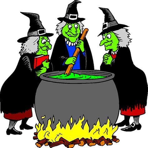 witch stirring her cauldron witches brew graphics