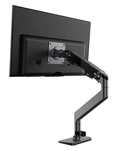monitor arm weltraum premium aluminum gas spring monitor