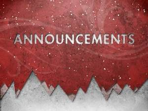 Christmas Snow Announcements | Evan Schneider Productions ...