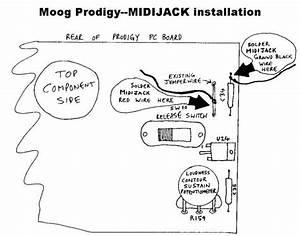 Moog Prodigy Analog User Modifications