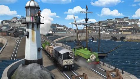 Skiff And The Mermaid Us by The Tank Engine Friends Season 20 Episode 26