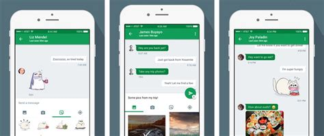 hangouts app iphone hangouts for ios gains refreshed interface multi