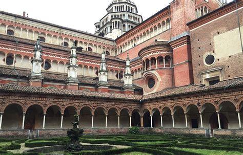visitare la certosa di pavia visita al monastero della certosa di pavia