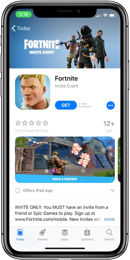 fortnite mobile invite event code ios app