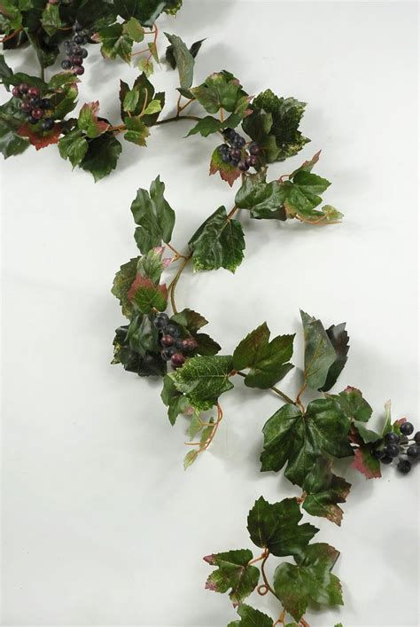 6 artificial grape leaf garlands thoughts leaf garland
