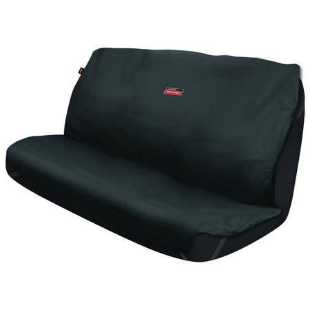 Bench Seat Covers For Cars by Dickies Bench Seat Cover Protector Black Walmart