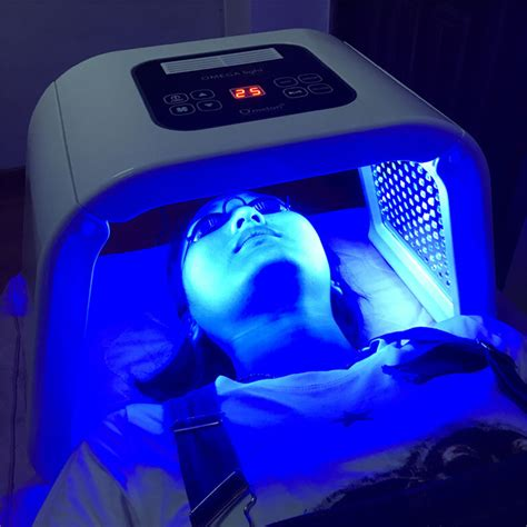 led facial light therapy machine