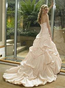 evoking your elegance with champagne wedding dresses With wedding gowns champagne color