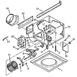 broan 161 parts list and diagram ereplacementparts com