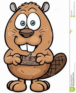 Beaver stock vector Illustration of painting, brown