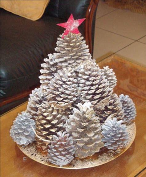 how to craft pinecone tree decoration hellokids