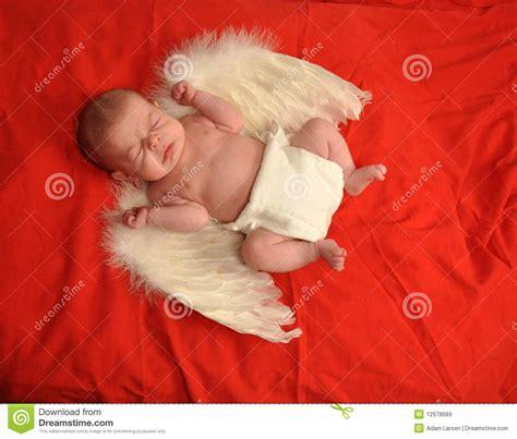 Sneezing Baby Angel Royalty Free Stock Images Image