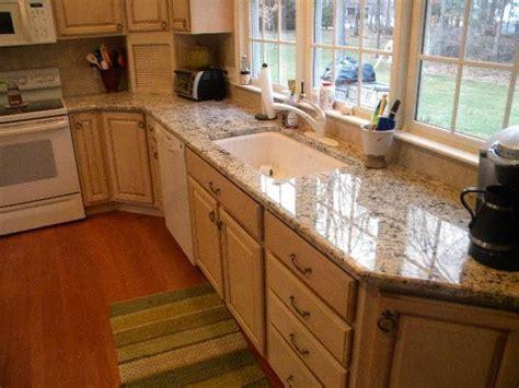 kitchen cabinets with light granite countertops white delicatus granite installation in south hadley the 9837