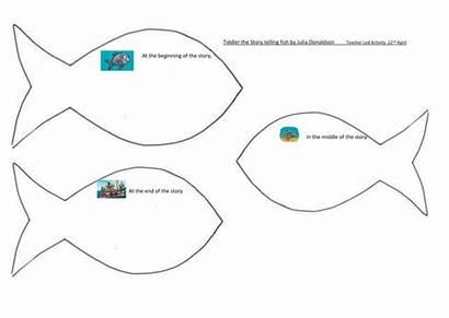 Tiddler Fish Story Julia Donaldson Telling Teaching