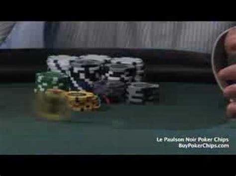 Le Paulson Noir Poker Chip Jam 30 Youtube