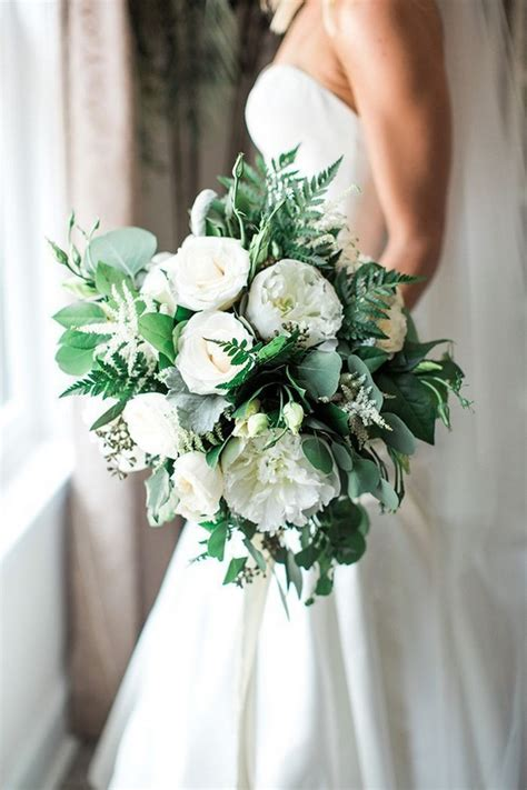 20 Greenery Wedding Bouquets For 2020 Deer Pearl Flowers