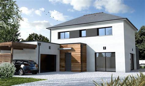 maison plain pied 2 chambres maison contemporaine sur mesure 44 56 85 depreux