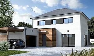 maison cubique contemporaine ventana blog With plan de maison cubique 11 maisons sur mesure 44 56 85 depreux construction