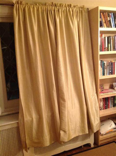 curtains  radiator