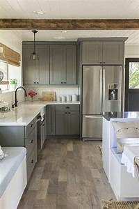 les 25 meilleures idees de la categorie repeindre meuble With awesome meuble de cuisine en bois rouge 0 cuisine moderne en bois