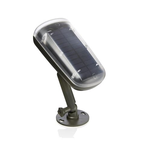 auraglow motion activated pir sensor solar power wireless