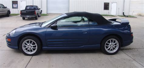 2002 Mitsubishi Eclipse Spyder by Overall Paint On A 2002 Mitsubishi Eclipse Spyder