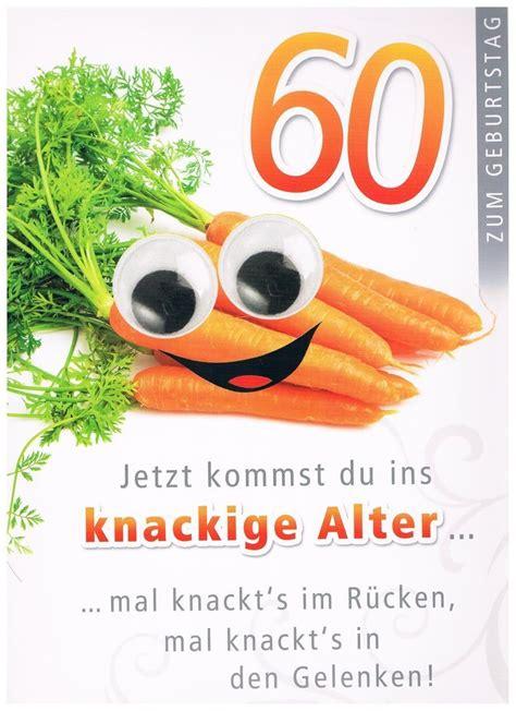 60 Geburtstag Karte