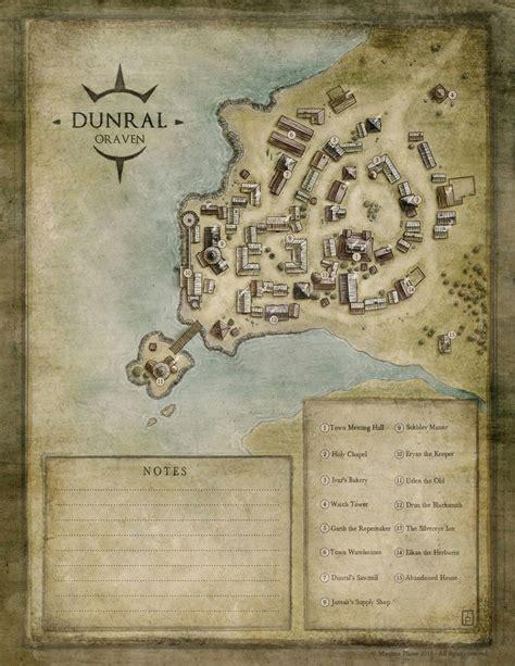 pin  macdog mcdonald  dd maps map fantasy city map