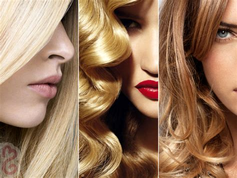 Different Types Of Blonde Hair Colors|