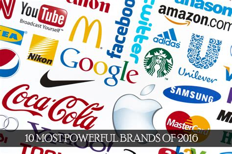 10 Most Powerful Brands Of 2017