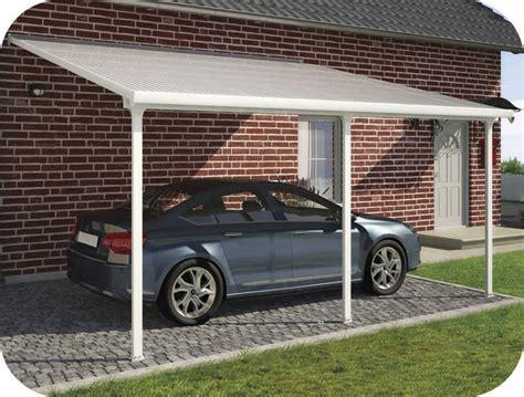 Palram 13x20 Feria Attached Metal Carport Kit (hg9140