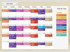 Web Calendar Software with Online Event Registration