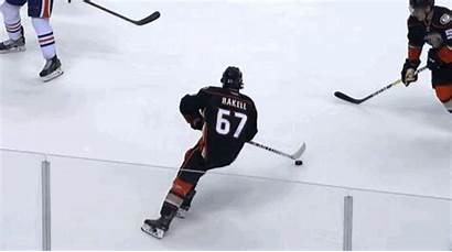 Ducks Goal Puck Rakell Oilers Edmonton Overtime