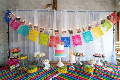 Kara's Party Ideas Colorful First Birthday Fiesta Kara's