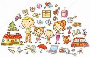 Wochenplan Haushalt Familie : familie und haushalt satz stockvektor katerina dav 96512802 ~ Markanthonyermac.com Haus und Dekorationen