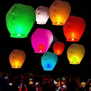 Wishing Lantern Chinese Paper Sky Floating Wedding