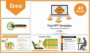 Computer Repair Powerpoint Templates For Free