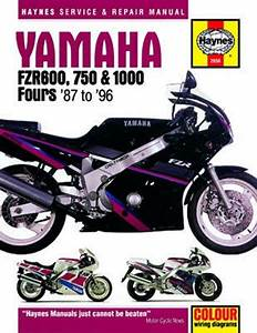 Yamaha Fzr600  750 And 1000 Haynes Repair Manual  1987