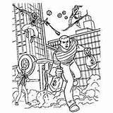Mysterio Spider Robbers Momjunction Sandman บทความ sketch template