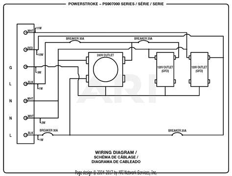 homelite ps powerstroke  watt generator parts