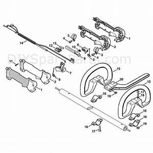 Stihl Km 90 R Engine  Km 90 R  Parts Diagram  Handle