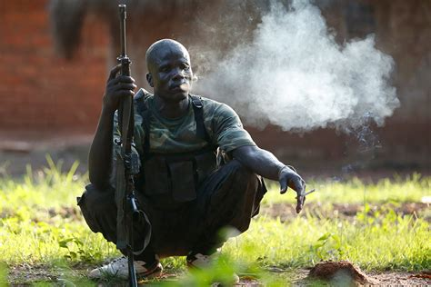 sanctions  militia leaders sends strong message