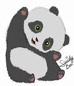 Baby Panda Doodle by SquishyBooo on DeviantArt