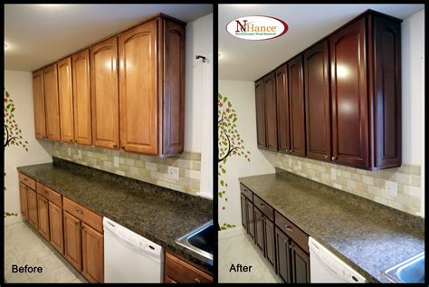 how to refinish wood cabinets cabinets ideas restaining kitchen cabinets wood
