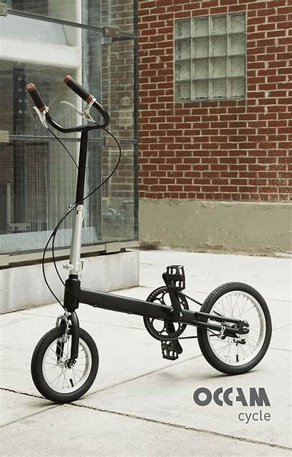 Bike Bicycle Folding Cycle Seatless Less Occam