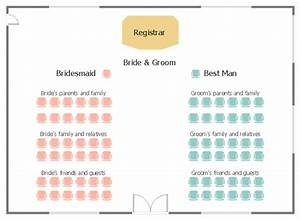 Wedding ceremony seating plan how to create a seating for Wedding ceremony seating chart