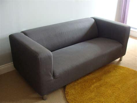 ikea sofa klippan ikea klippan two seat sofa for sale with grey flackarp cover in swindon wiltshire