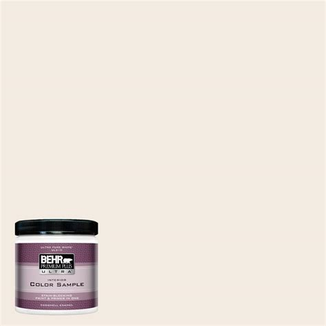 Is actually in which wonderful. BEHR Premium Plus Ultra 8 oz. #12 Swiss Coffee Eggshell Enamel Interior Paint and Primer in One ...