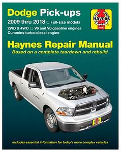 Dodge Ram Haynes Repair Manual  2009-2018